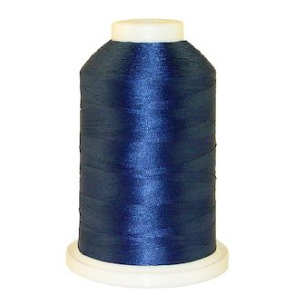 Gem Blue # 1043 Iris Polyester Embroidery Thread - 1100 Yds