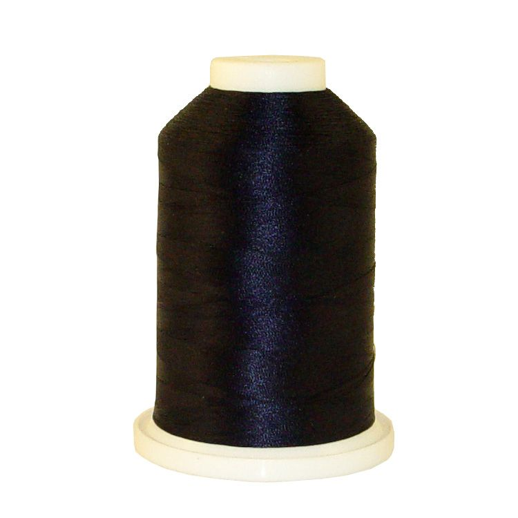 Navy # 1047 Iris Trilobal Polyester Machine Embroidery & Quilting Thread - 5500 Yds