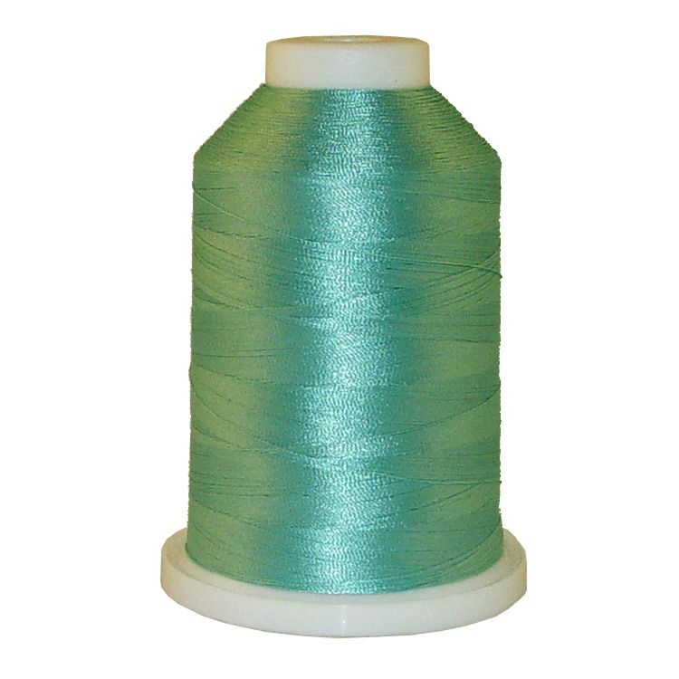 Mint Blue # 1048 Iris Trilobal Polyester Machine Embroidery & Quilting Thread - 5500 Yds
