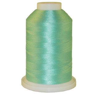 Teal Ice # 1049 Iris Polyester Embroidery Thread - 1100 Yds
