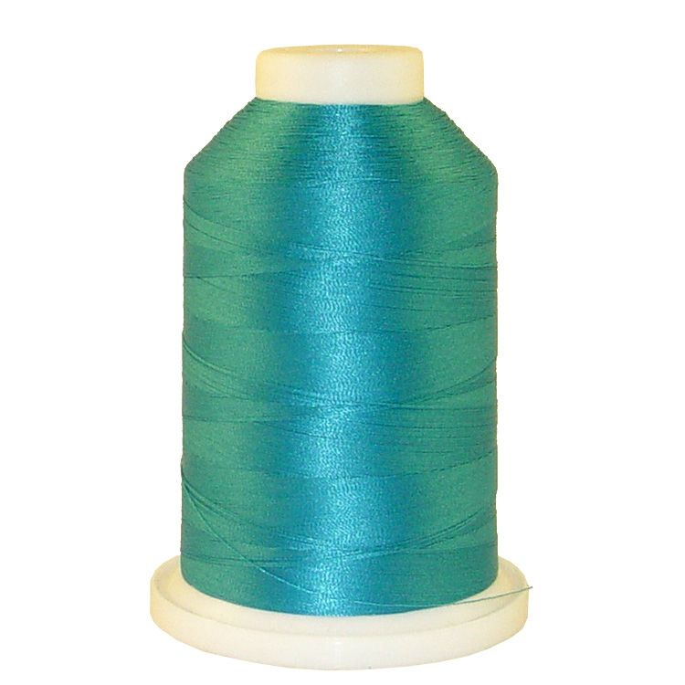 Smurf # 1050 Iris Trilobal Polyester Machine Embroidery & Quilting Thread - 5500 Yds
