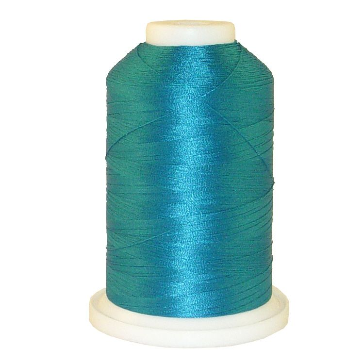 Twister Blue # 1051 Iris Trilobal Polyester Machine Embroidery & Quilting Thread - 5500 Yds