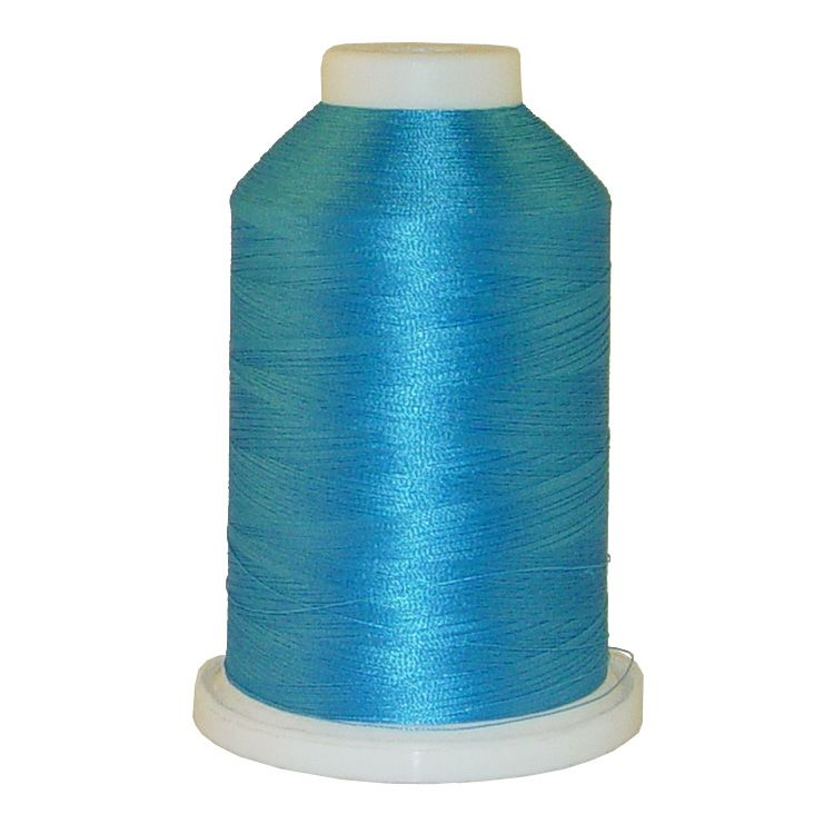 Bambino Blue # 1052 Iris Trilobal Polyester Machine Embroidery & Quilting Thread - 5500 Yds