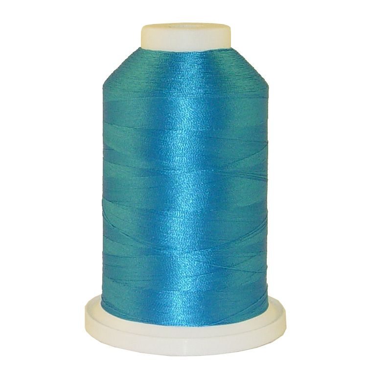 California Blue # 1053 Iris Trilobal Polyester Machine Embroidery & Quilting Thread - 5500 Yds