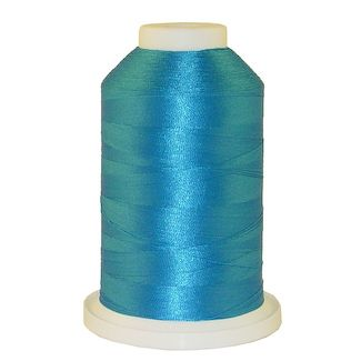 California Blue # 1053 Iris Polyester Embroidery Thread - 1100 Yds