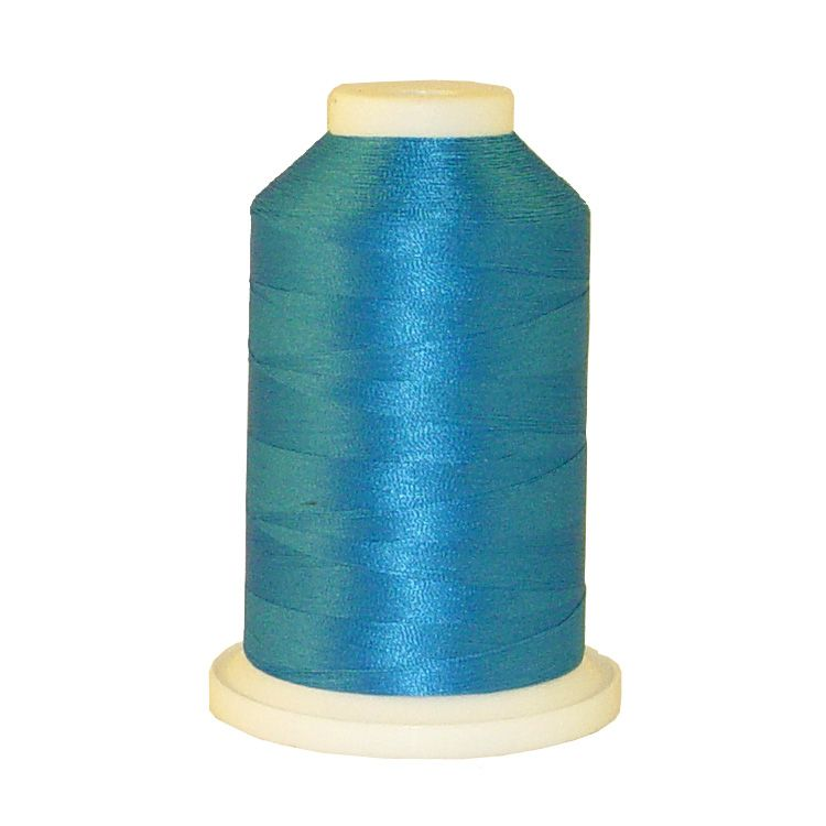 Angelic Blue # 1054 Iris Trilobal Polyester Machine Embroidery & Quilting Thread - 5500 Yds