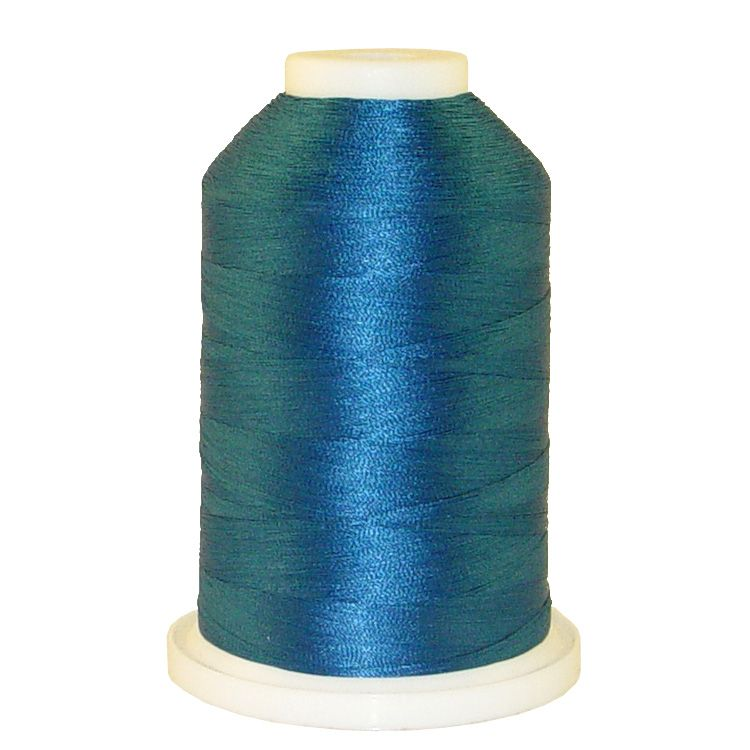 Peacock # 1055 Iris Trilobal Polyester Machine Embroidery & Quilting Thread - 5500 Yds THUMBNAIL