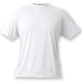 Vapor Apparel Basic Short Sleeve T-Shirt - White