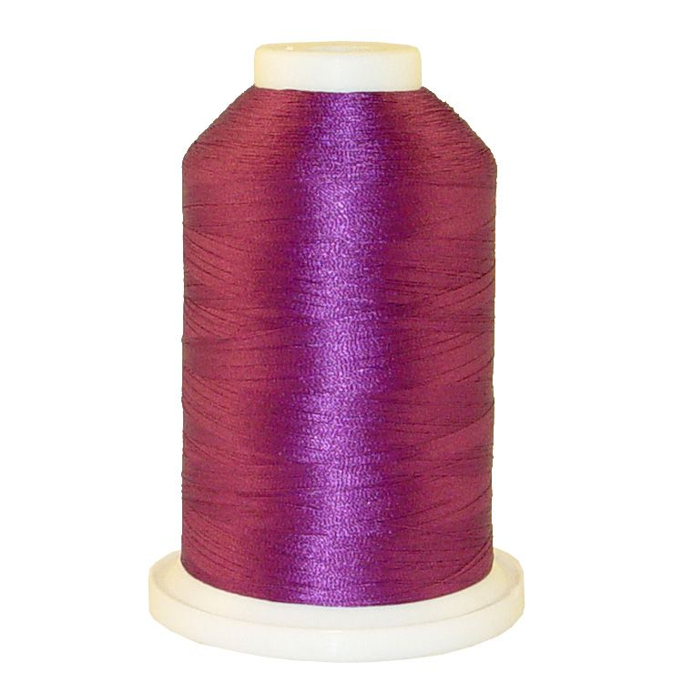 Plum # 1064 Iris Trilobal Polyester Machine Embroidery & Quilting Thread - 5500 Yds