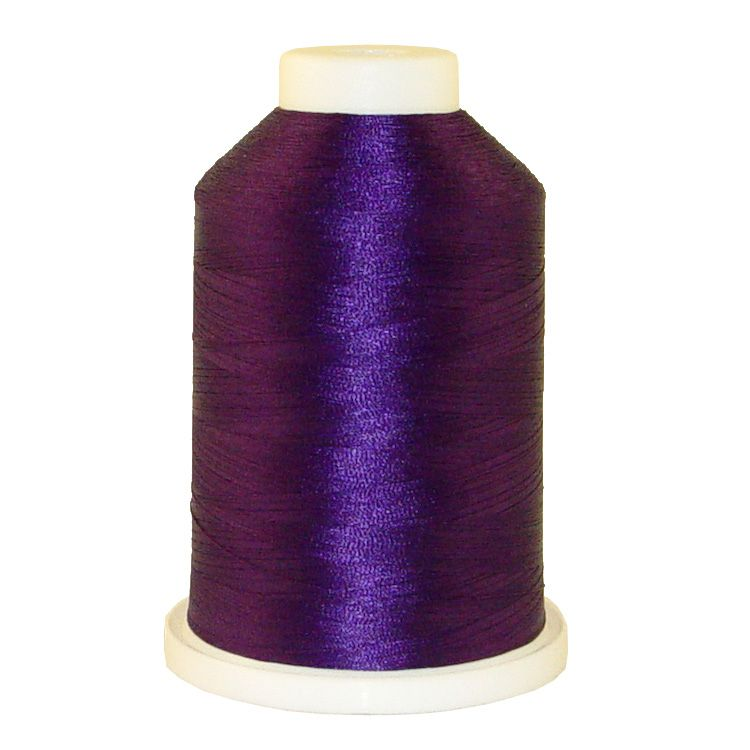 Grape # 1066 Iris Trilobal Polyester Machine Embroidery & Quilting Thread - 5500 Yds