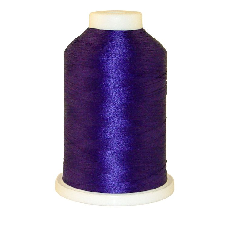 Purple Accent # 1068 Iris Trilobal Polyester Machine Embroidery & Quilting Thread - 5500 Yds