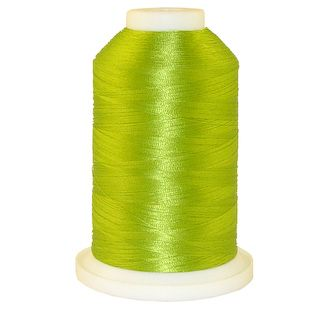 Lime Green # 1072 Iris Polyester Embroidery Thread - 1100 Yds