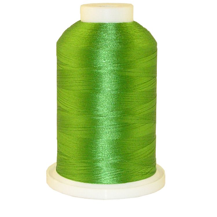 Emerald Green # 1076 Iris Trilobal Polyester Machine Embroidery & Quilting Thread - 5500 Yds