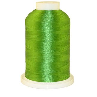 Emerald Green # 1076 Iris Polyester Embroidery Thread - 1100 Yds