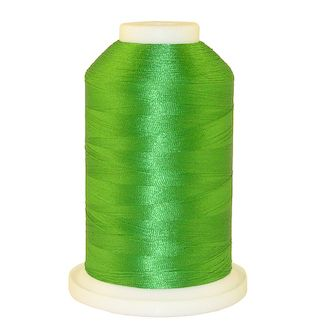 Kelly Green # 1077 Iris Polyester Embroidery Thread - 1100 Yds