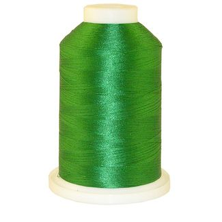 Green # 1078 Iris Polyester Embroidery Thread - 1100 Yds