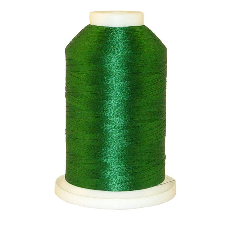 Xmas Green # 1080 Iris Trilobal Polyester Machine Embroidery & Quilting Thread - 5500 Yds_THUMBNAIL