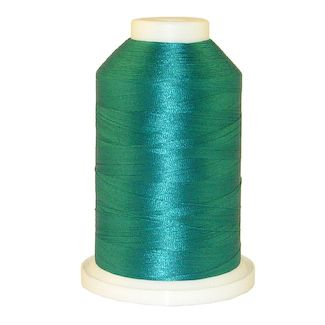 Another Aqua # 1084 Iris Polyester Embroidery Thread - 1100 Yds