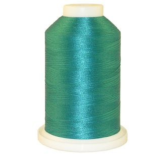 Lt. Aquamarine Blue # 1085 Iris Polyester Embroidery Thread - 1100 Yds