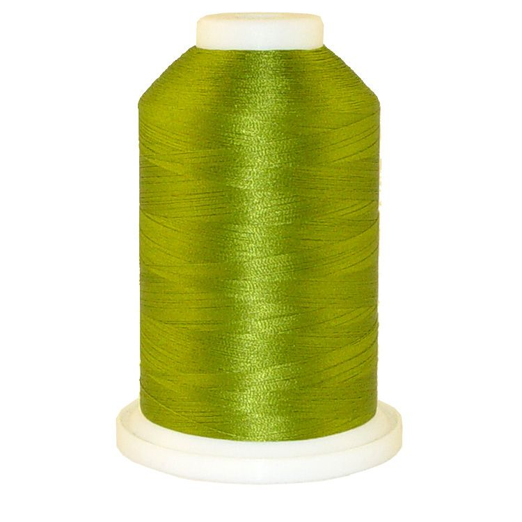 Winter Green # 1086 Iris Trilobal Polyester Machine Embroidery & Quilting Thread - 5500 Yds