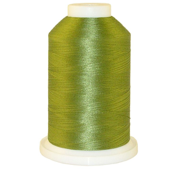 Palmetto Green # 1087 Iris Trilobal Polyester Machine Embroidery & Quilting Thread - 5500 Yds