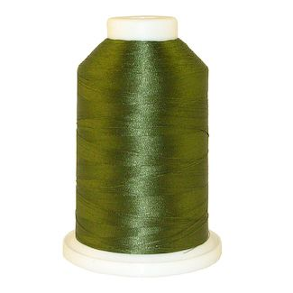 Dark Pine Green # 1090 Iris Polyester Embroidery Thread - 1100 Yds