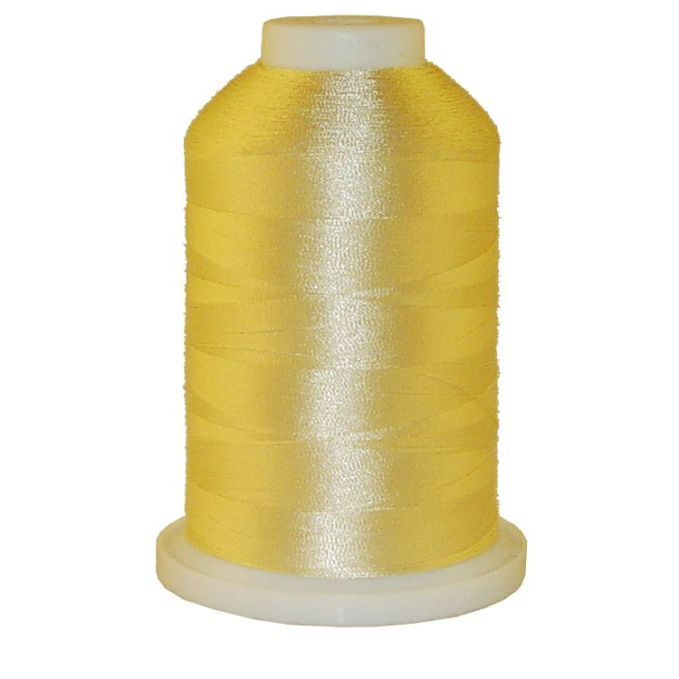 Custard Creme # 1093 Iris Trilobal Polyester Machine Embroidery & Quilting Thread - 5500 Yds