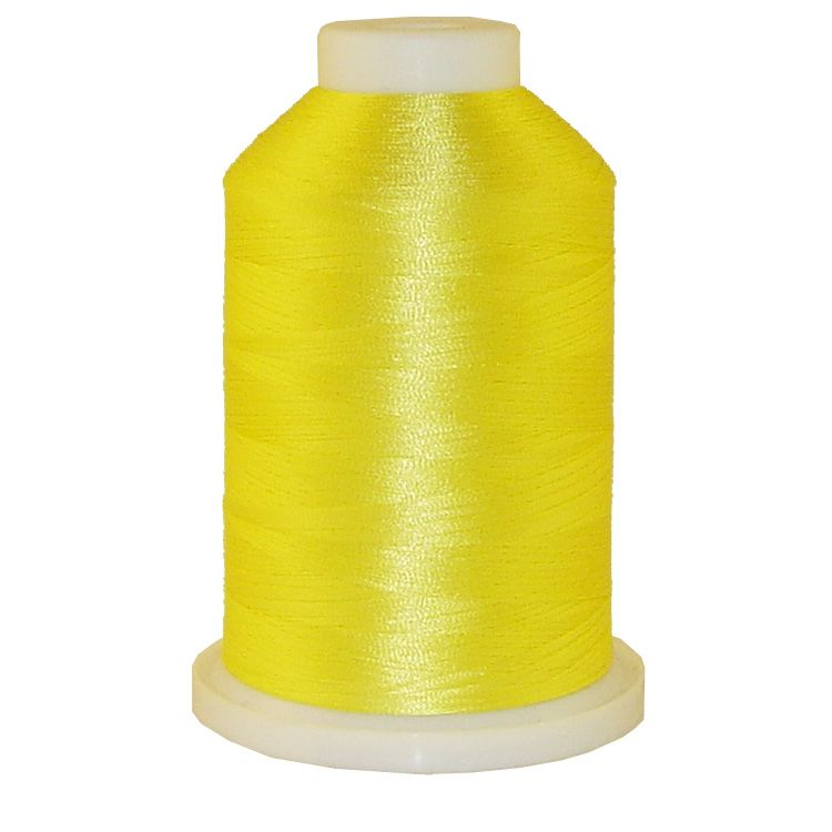 Lemon Crush # 1098 Iris Trilobal Polyester Machine Embroidery & Quilting Thread - 5500 Yds