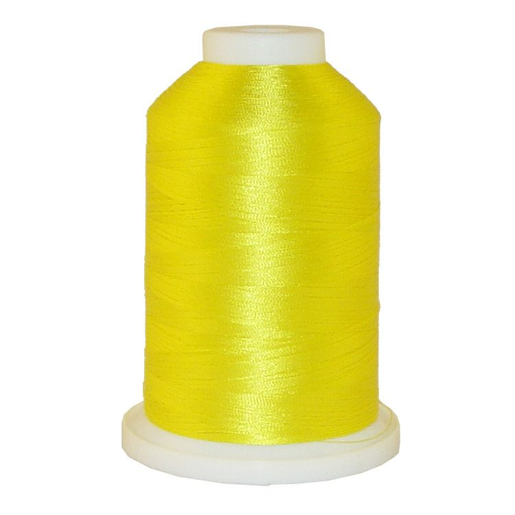 Yellow Hair # 1100 Iris Trilobal Polyester Machine Embroidery & Quilting Thread - 5500 Yds