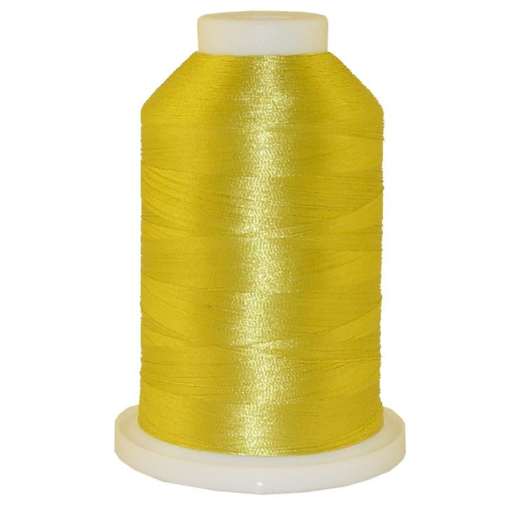 Machine Gold # 1103 Iris Trilobal Polyester Machine Embroidery & Quilting Thread - 5500 Yds
