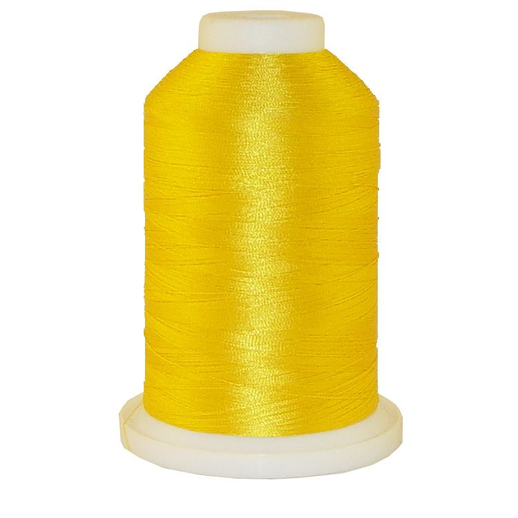Goldenrod # 1107 Iris Trilobal Polyester Machine Embroidery & Quilting Thread - 5500 Yds