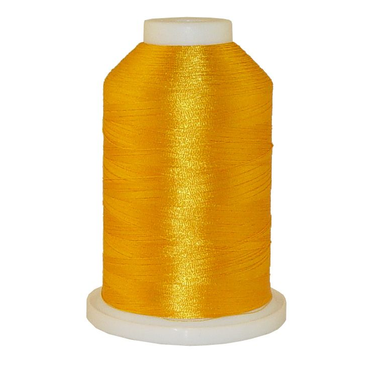 Golden Nectar # 1110 Iris Trilobal Polyester Machine Embroidery & Quilting Thread - 5500 Yds