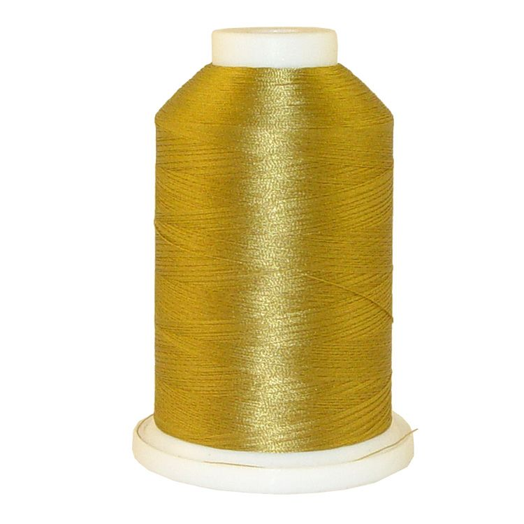 Autumn Gold # 1134 Iris Trilobal Polyester Machine Embroidery & Quilting Thread - 5500 Yds