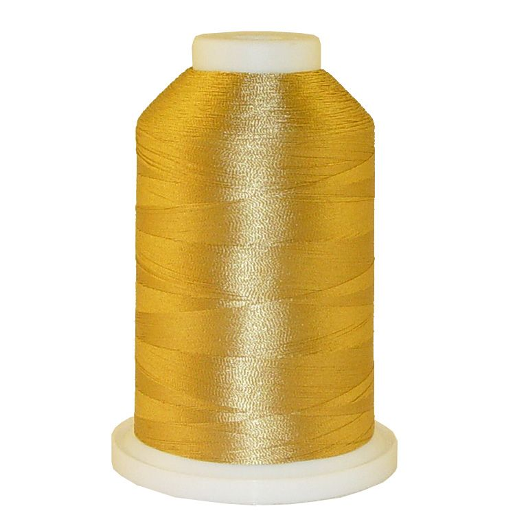 Exotic Gold # 1139 Iris Trilobal Polyester Machine Embroidery & Quilting Thread - 5500 Yds