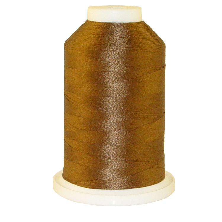 Brown Herring # 1146 Iris Trilobal Polyester Machine Embroidery & Quilting Thread - 5500 Yds