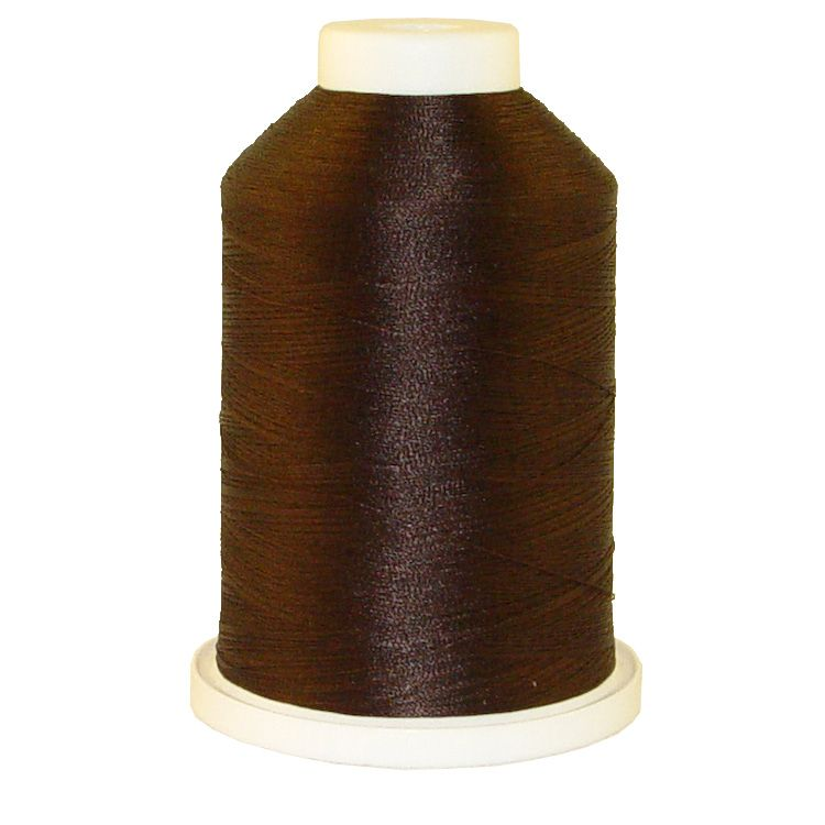 Dark Brown # 1148 Iris Trilobal Polyester Machine Embroidery & Quilting Thread - 5500 Yds
