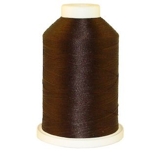 Dark Brown # 1148 Iris Polyester Embroidery Thread - 1100 Yds