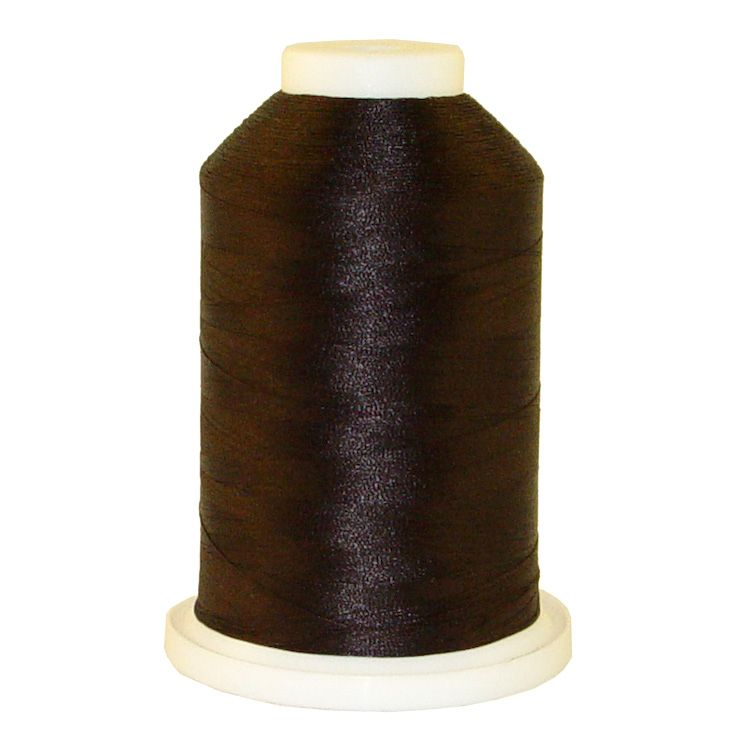 Expresso Dark # 1150 Iris Trilobal Polyester Machine Embroidery & Quilting Thread - 5500 Yds