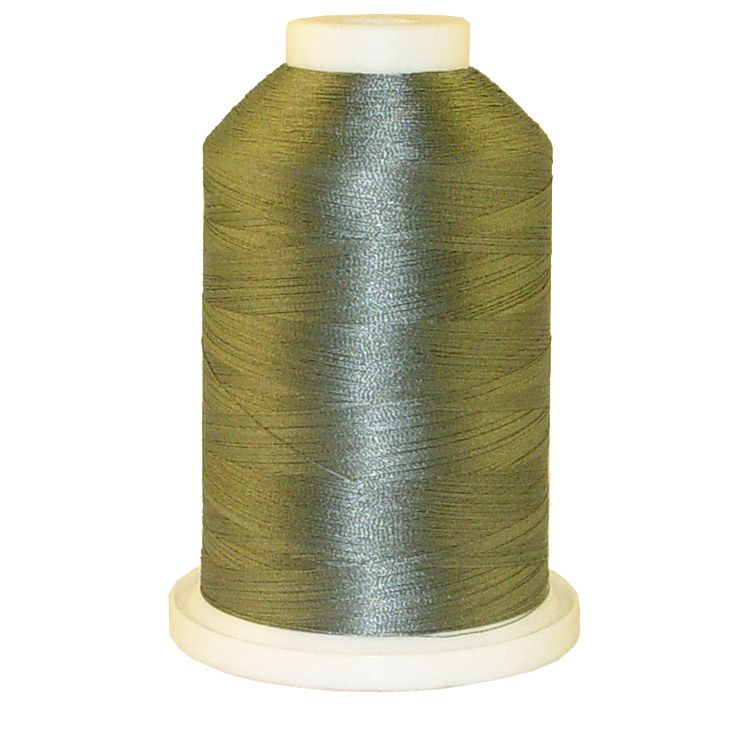 Confederate Gray # 1154 Iris Trilobal Polyester Machine Embroidery & Quilting Thread - 5500 Yds