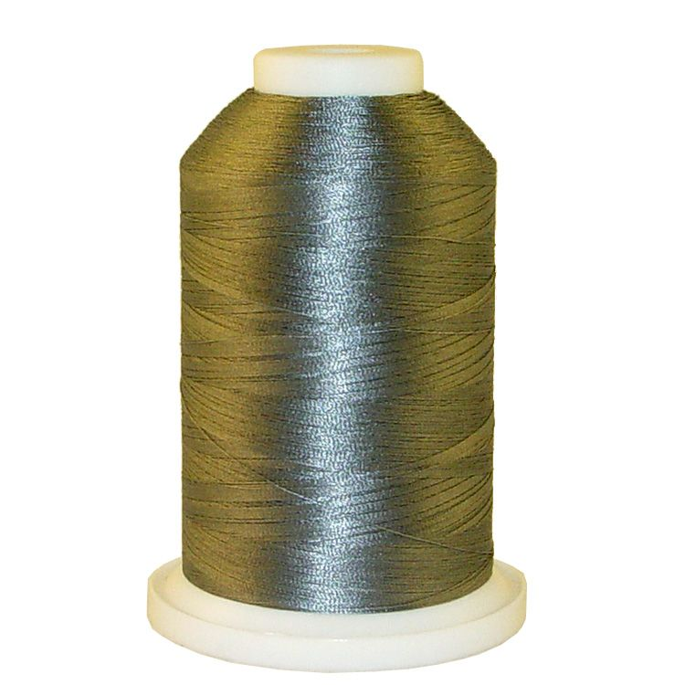 Carbon Grey # 1155 Iris Trilobal Polyester Machine Embroidery & Quilting Thread - 5500 Yds