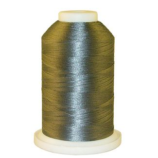Carbon Grey # 1155 Iris Polyester Embroidery Thread - 1100 Yds