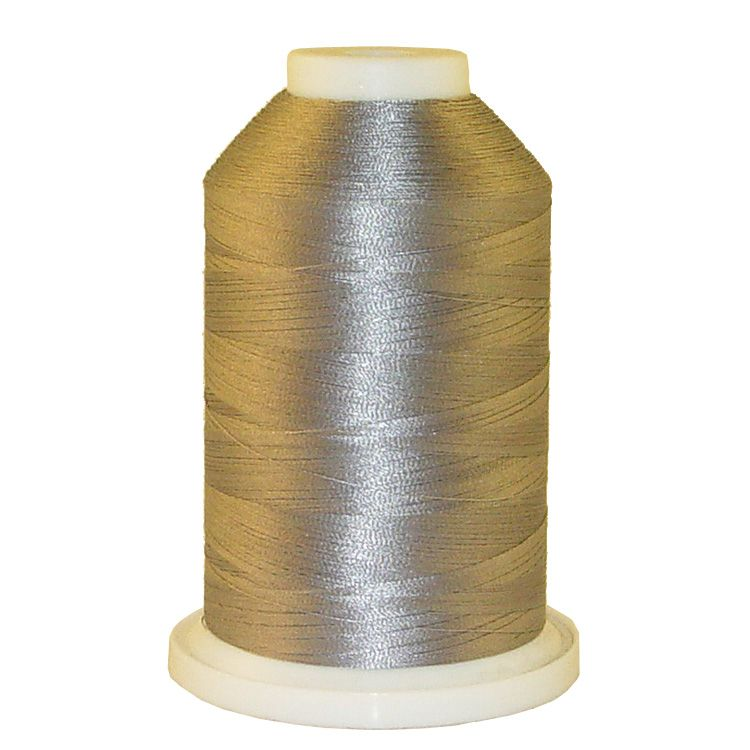 Pearl Grey # 1157 Iris Trilobal Polyester Machine Embroidery & Quilting Thread - 5500 Yds THUMBNAIL