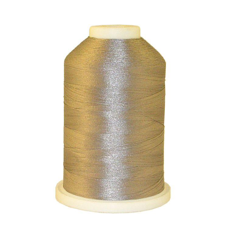 Stainless Steel # 1159 Iris Trilobal Polyester Machine Embroidery & Quilting Thread - 5500 Yds
