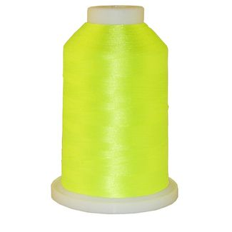 Neon Yellow # 1166 Iris Polyester Embroidery Thread - 1100 Yds