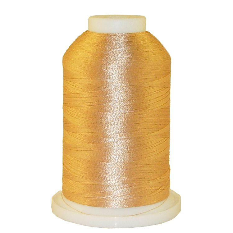 Tan # 1171 Iris Trilobal Polyester Machine Embroidery & Quilting Thread - 5500 Yds