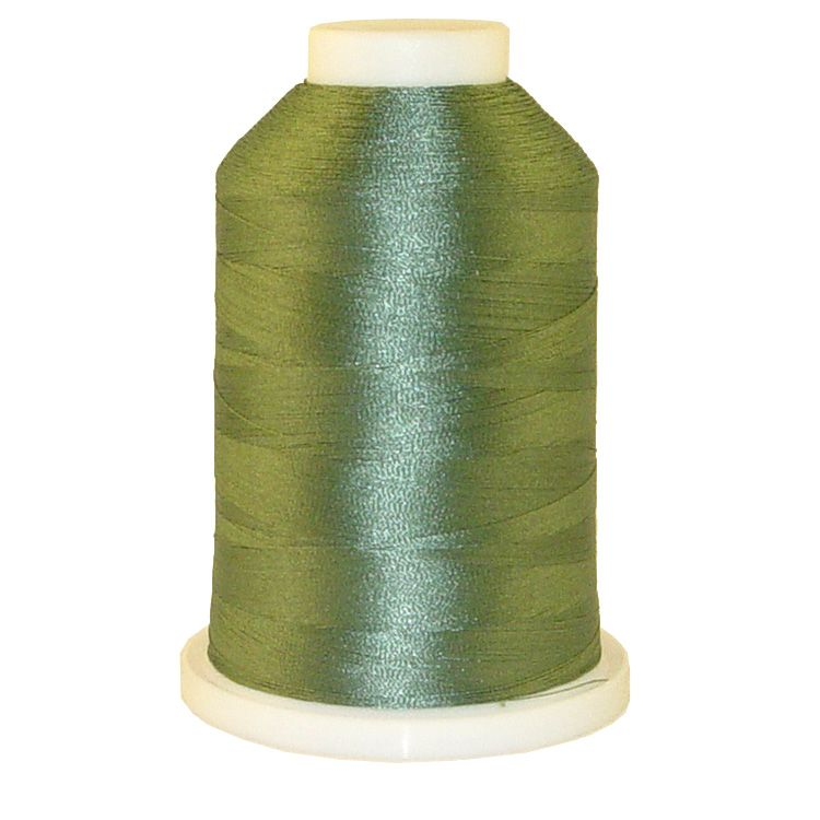 Willow Green # 1179 Iris Trilobal Polyester Machine Embroidery & Quilting Thread - 5500 Yds