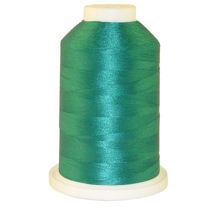 Oceanic Green # 1182 Iris Trilobal Polyester Machine Embroidery & Quilting Thread - 5500 Yds