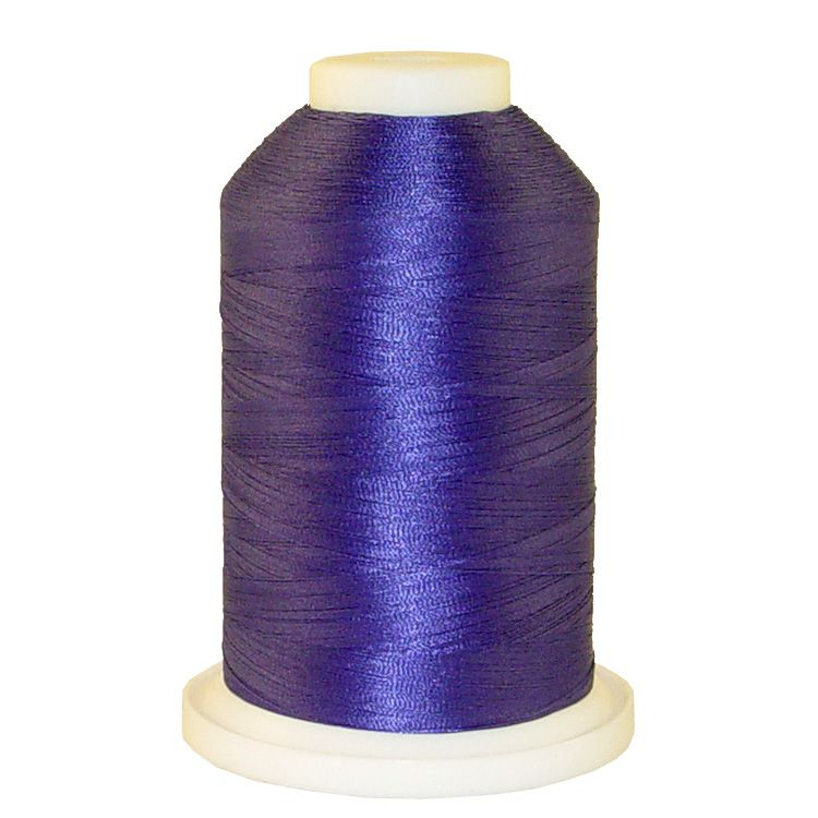 Purple # 1186 Iris Trilobal Polyester Machine Embroidery & Quilting Thread - 5500 Yds