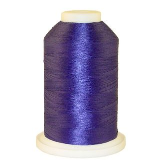 Purple # 1186 Iris Polyester Embroidery Thread - 1100 Yds