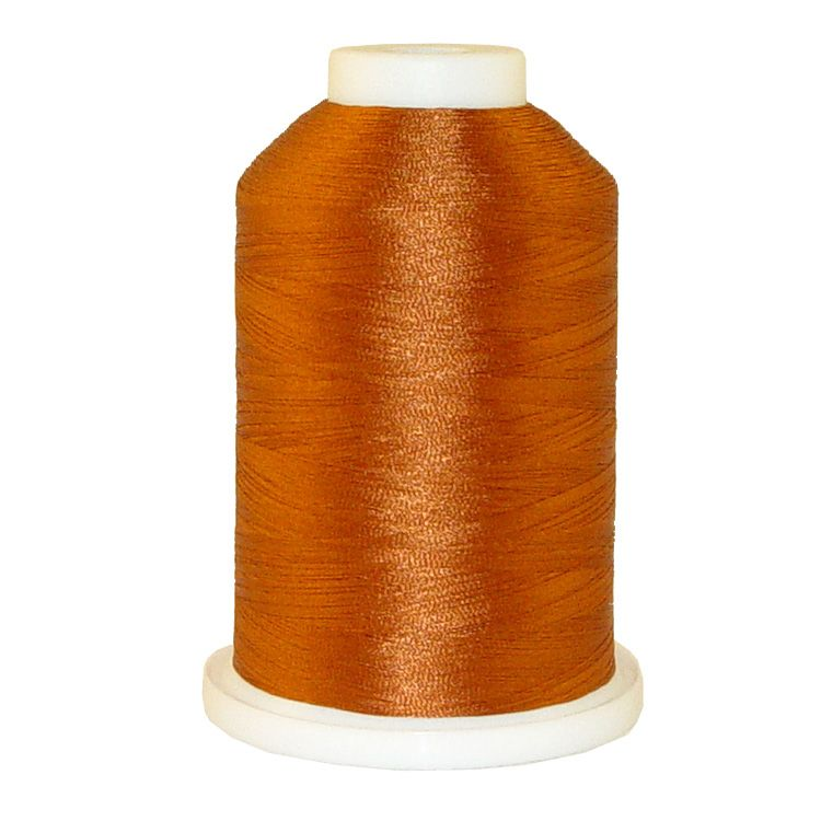 Bronze # 1187 Iris Trilobal Polyester Machine Embroidery & Quilting Thread - 5500 Yds